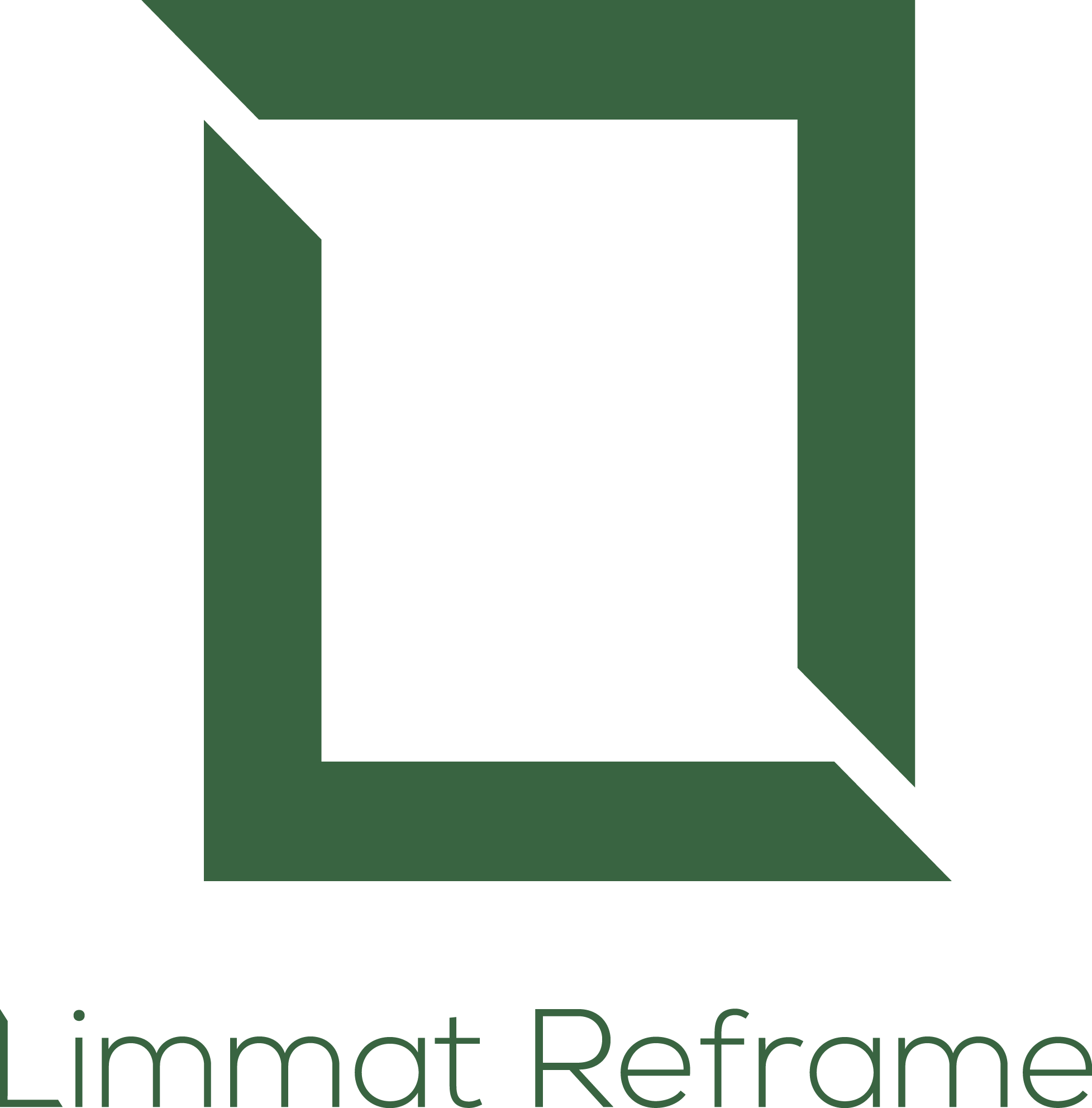 The Limmat Reframe Logo - representing a a reframe happening
